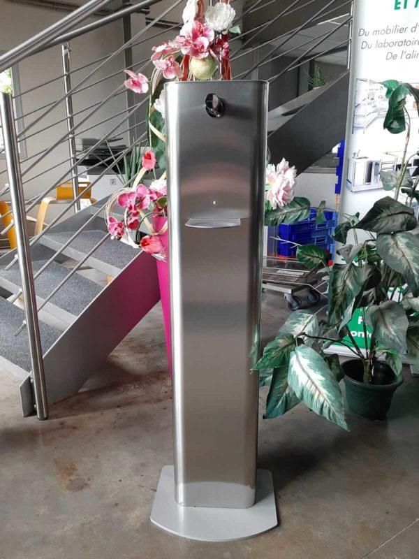 Smart Drop borne de gel hydroalcoolique sans contact