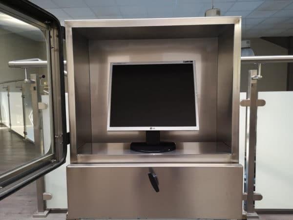 Armoire inox étanche pour ordinateur