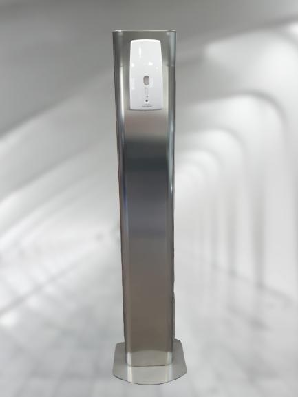 Colonne gel hydroalcoolique automatique REAL DISTRIB