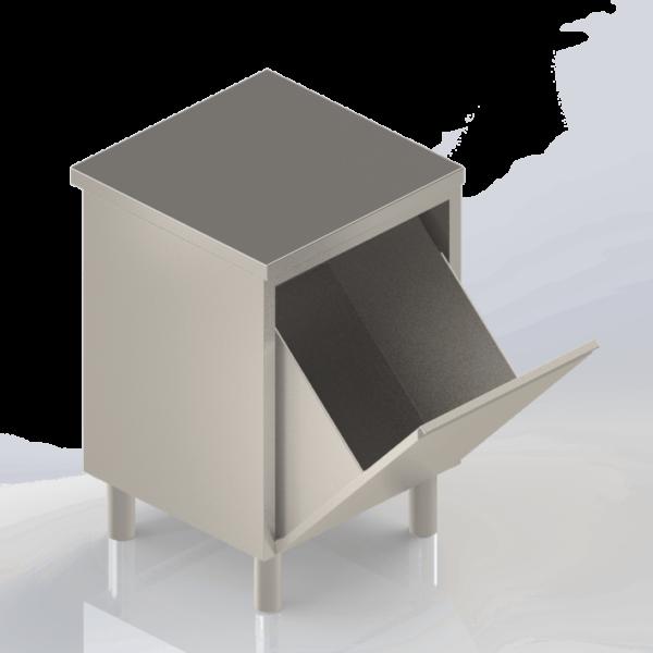 Meuble rangement modulaire en inox