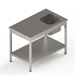 Table du chef en inox professionnelle